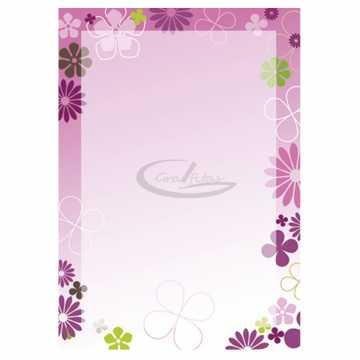 Diplomų popierius A4 100gr. 50 lapai (Fiori)