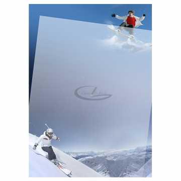 Diplomų popierius A4 170gr. 25 lapai (Ski)