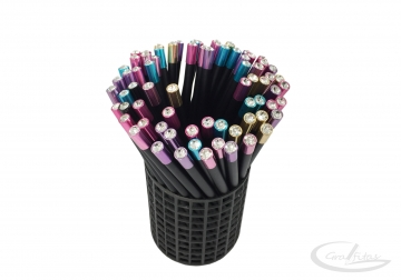 Pieštukas su spalvotu kristalu A-019
