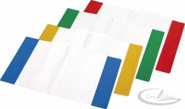 Aplankalas spalvotu kraštu knygoms ir sąsiuviniams A5
