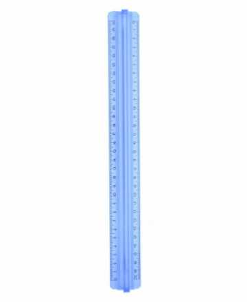 Liniuotė pratel su laikikliu 30cm