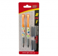 Mini Plunksnakotis, rašiklis + 4 kapsulės